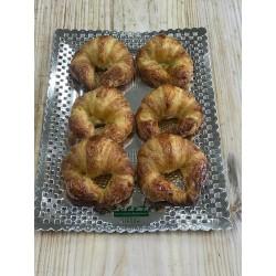 Bandeja 6 croissants mini